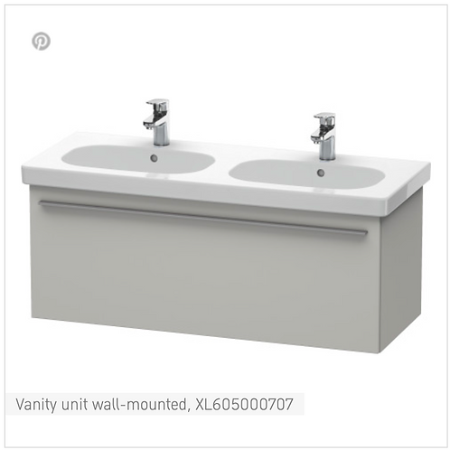 X-Large Vanity unit wall-mounted 1150mm x 458mm