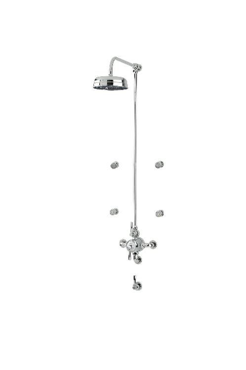 Perrin & Rowe Contemporary Shower Set Seven