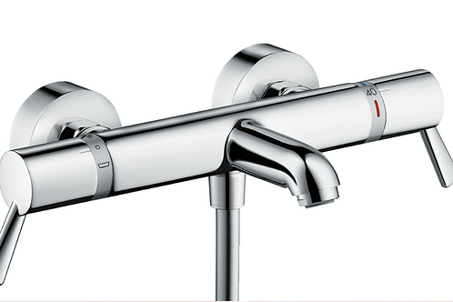 Hansgrohe Ecostat Thermostatic bath mixer Comfort Care for exposed installation