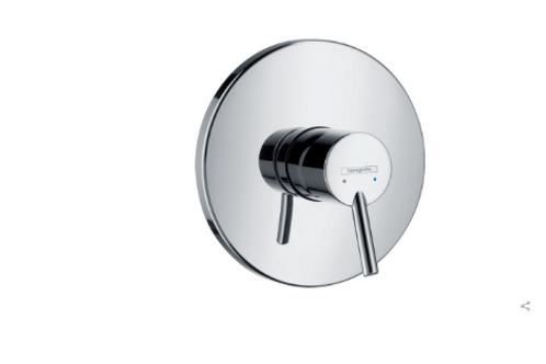 Hangrohe Talis S Single lever manual shower mixer for concealed installation