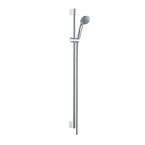 Hansgrohe Crometta 85 Shower set Mono Green 6 l/min with shower rail 90 cm