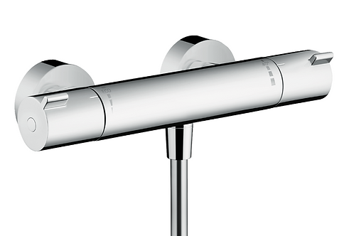 Hansgrohe Ecostat Thermostatic shower mixer 1001 CL for exposed installation