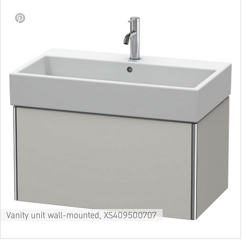 XSquare Vanity unit wall-mounted 784 x 460 mm