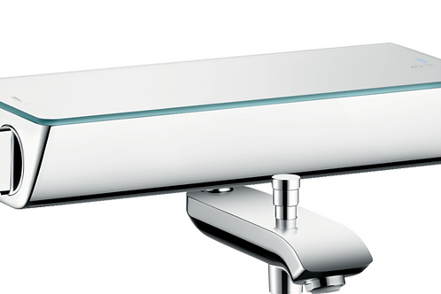 Hansgrohe Ecostat Select Thermostatic bath mixer for exposed installation