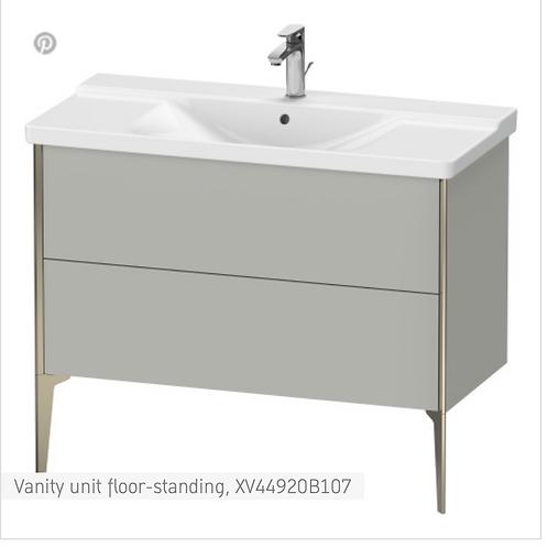 XViu Vanity unit floor-standing 1010 x 469 mm