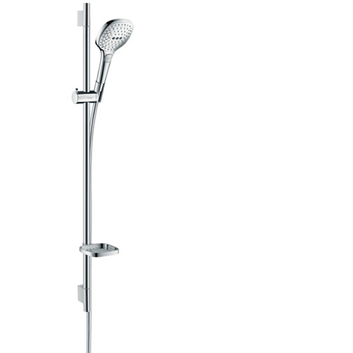 Hansgrohe Raindance Select E Shower Set 120 3Jet With 90cm Shower Bar and Soap