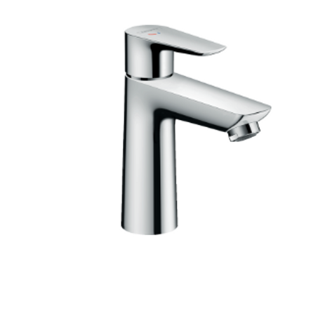 Hansgrohe Talis E Single lever basin mixer 110 CoolStart with pop-up waste
