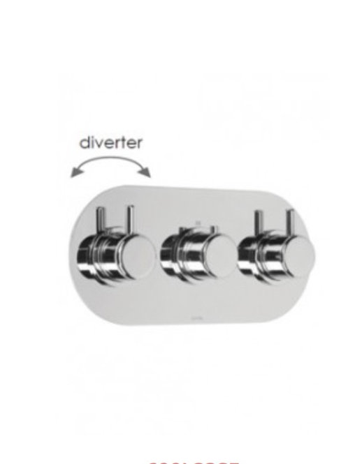 Cifial Technovation 35 3 Control Thermostatic Shower valve With Diverter