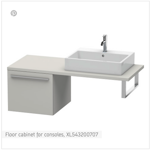 X-Large Floor cabinet for consoles 500mm x 548mm