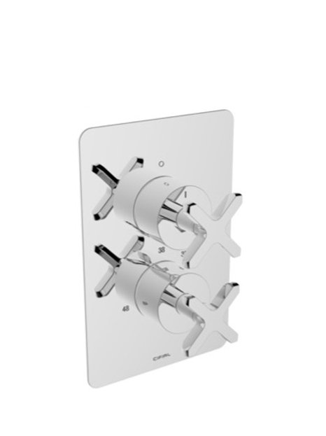 Cifial Text Thermostatic Valve