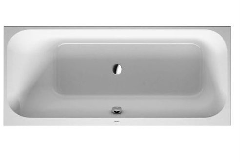Duravit Happy D.2 Bathtub 1700x750 with support feet