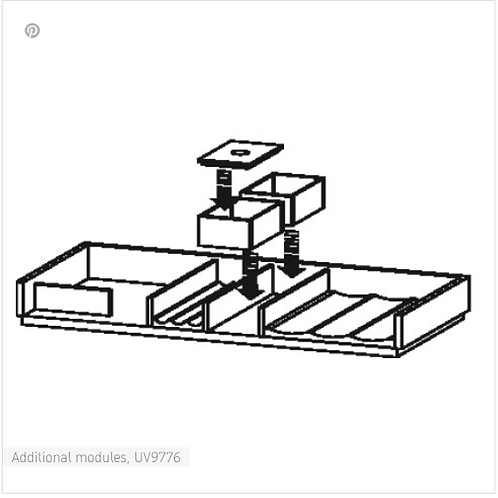 Accessories Additional modules 610mm - 1210MM
