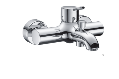 Hansgrohe Talis S Single lever manual bath mixer for exposed installation
