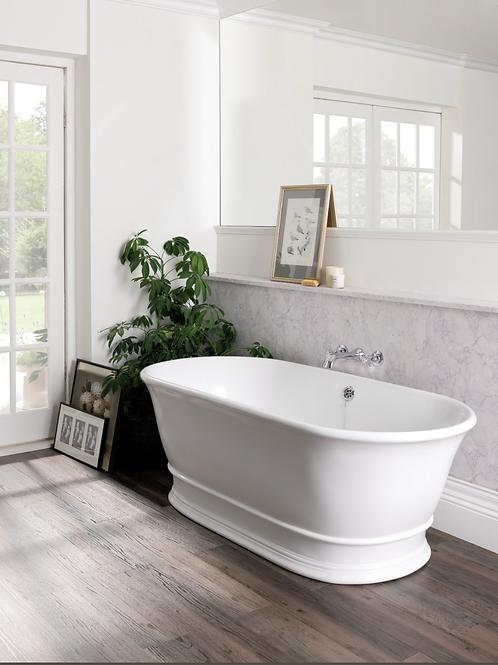 BC Designs Bampton Cian Solid Surface Bath 1555 x 740mm