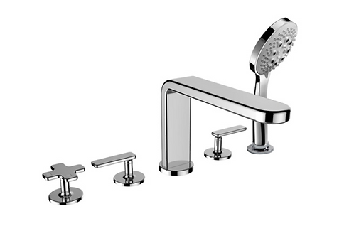 Cifial TH400 5 Hole Deck Bath Mixer