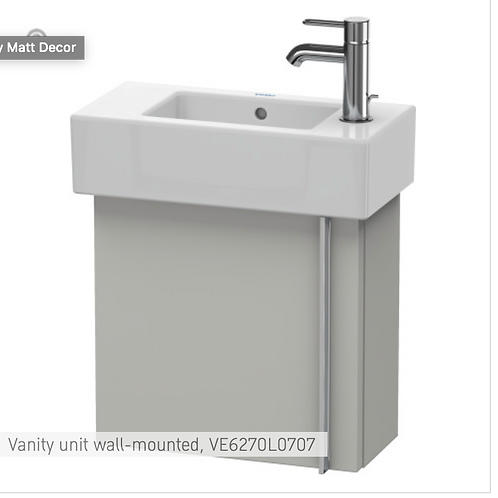 Vero Vanity unit wall-mounted 450mm x 211mm