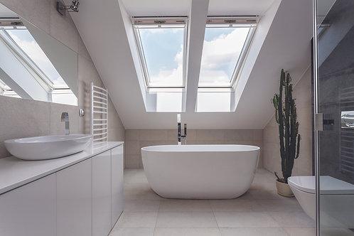 BC Designs Dinkee Acrymite Acrylic Bath 1500 x 780mm