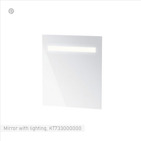Duravit Ketho Mirror with Lighting 650 x 41