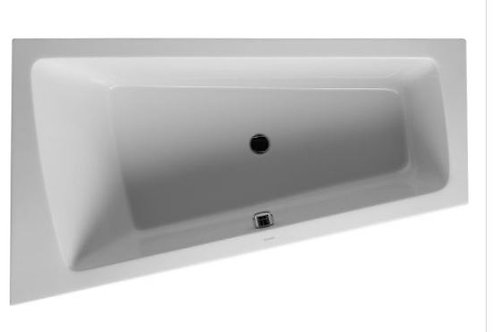 Duravit Paiova Built-In Bathtub 1700x1000 with support feet