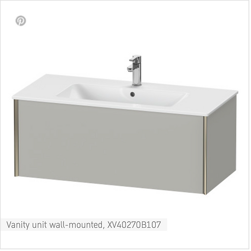 XViu Vanity unit wall-mounted 1010 x 480 mm
