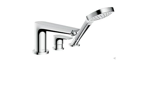 Hansgrohe Talis E 3-hole rim-mounted single lever bath mixer