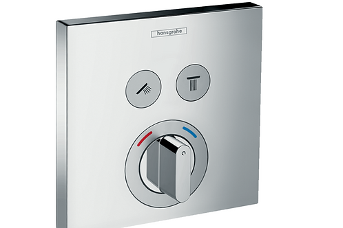 Hansgrohe ShowerSelect Mixer for concealed installation for 2 outlets