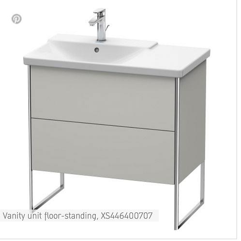 XSquare Vanity unit floor-standing 810 x 473 mm