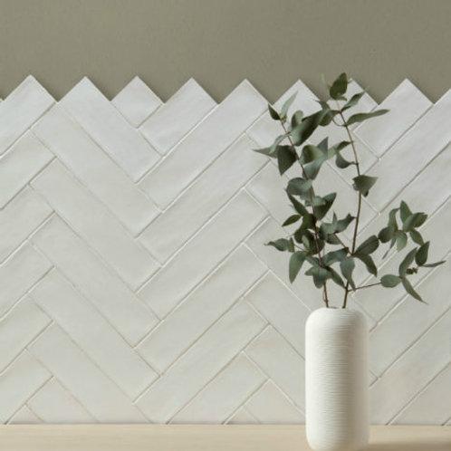Carter Ceramic White 7.5 x 30cm Price Per Sqm