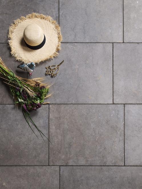 Corfe Limestone Tumbled & Etched Finish 60cm x Random Price Per Sqm