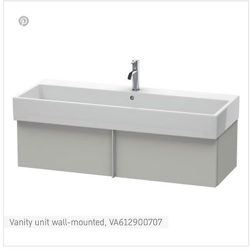 Vero Air Vanity unit wall-mounted 1184mm x 431mm