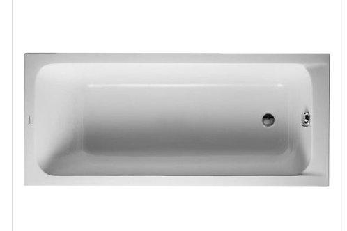 Duravit D-Code Bathtub 1600x700 with support feet
