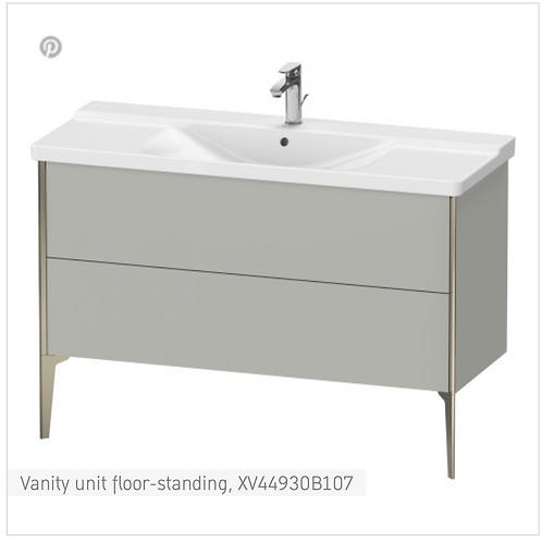 XViu Vanity unit floor-standing 1210 x 469 mm
