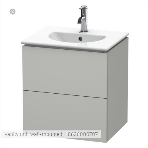 Duravit L-Cube Vanity Unit Wall Mounted 1020 x 534