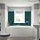 Thumbnail: BC Designs SolidBlue Bath End Panel 700x 520m