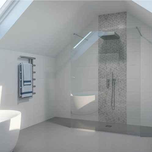 Shower Lab - View 20 - Free Standing Fixed Panel - Standard