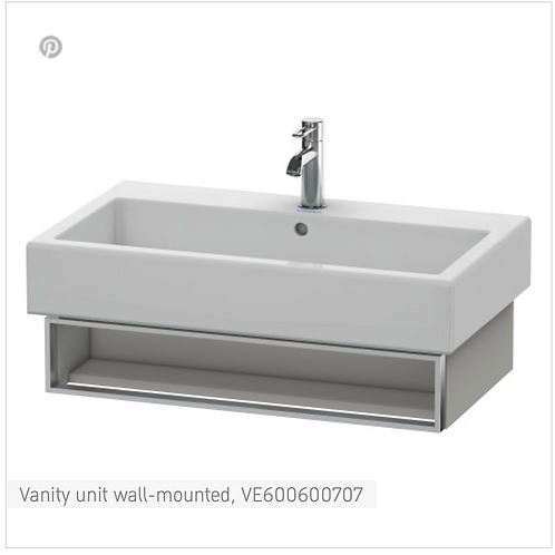 Vero Vanity unit wall-mounted 950mm x 431mm