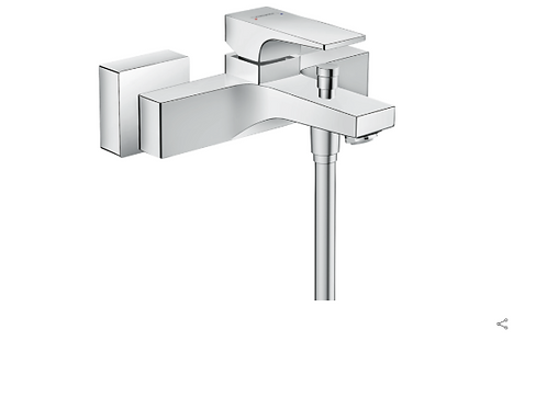 Hansgrohe Metropol Single lever manual bath mixer for exposed installation with
