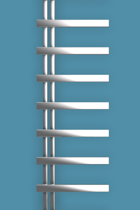 Bisque Chime 1830mm x 500mm Towel Rail - Electric Left Hand
