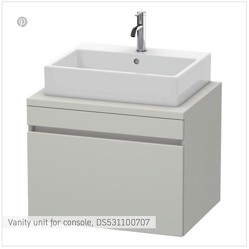 DuraStyle Vanity unit for console 700mm x 548mm