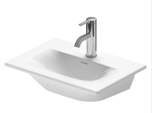 Duravit Viu Handrinse Basin 450mm, furniture handrinse basin