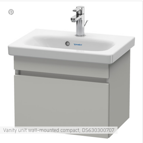 Duravit DuraStyle Vanity unit wall-mounted compact 730 X 368