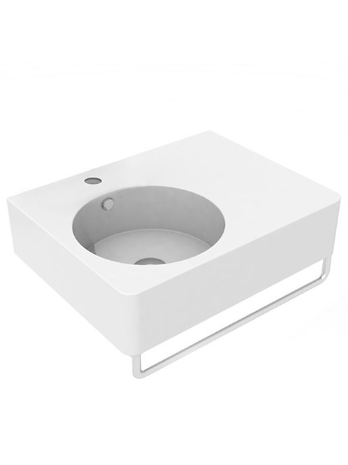 Cifial BLOCK Left Hand Basin 610mm