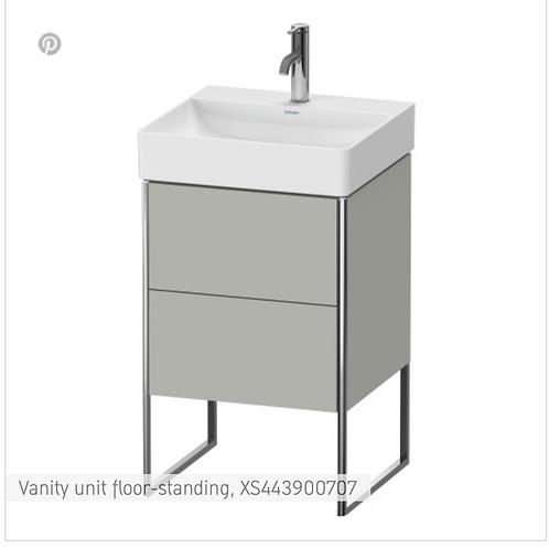 XSquare Vanity unit floor-standing 484 x 460 mm