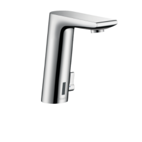 Hansgrohe Metris S Electronic basin mixer with temperature control and battery-o