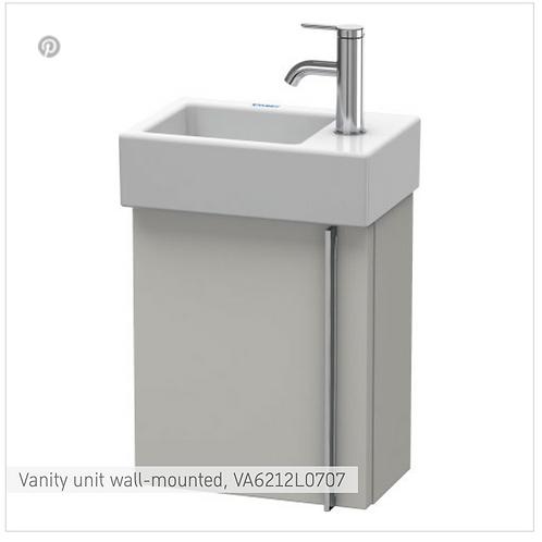 Vero Air Vanity unit wall-mounted