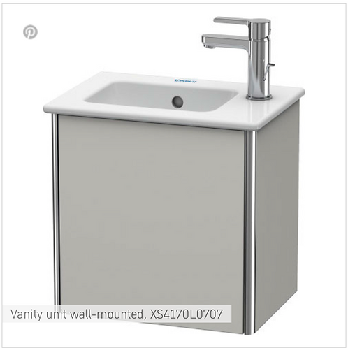 XSquare Vanity unit floor-standing 410 x 289 mm