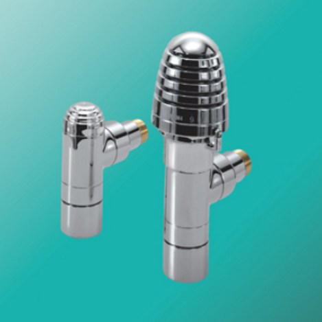Bisque Valve Set H - Angled Thermostatic