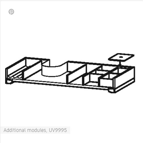 Duravit L-Cube Additional Modules for cabinet width 1220mm