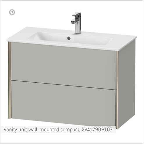 XViu Vanity unit wall-mounted compact 810 x 390 mm