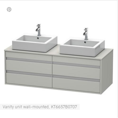 Duravit Ketho Vanity unit wall-mounted 1400 X 550